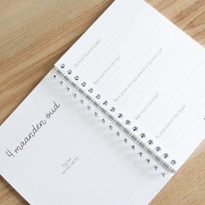 Baby's eerst jaar boek invulboek FSHappiness