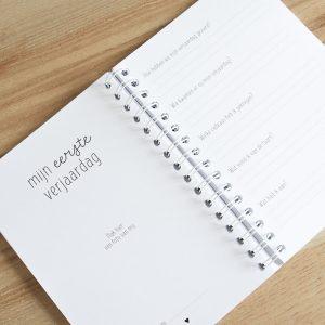 Baby's eerst jaar boek invulboek FSHappiness mijn eerste verjaardag