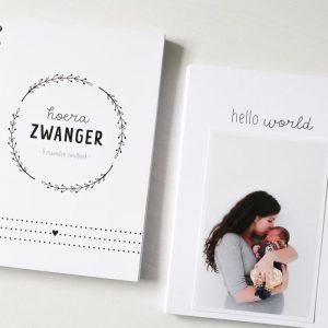 Hello world zwangerschapsboek invulboek FSHappiness