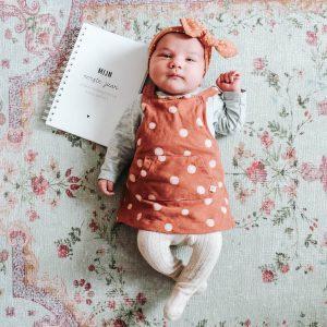 babys eerste jaarboek invulboek FSHappiness