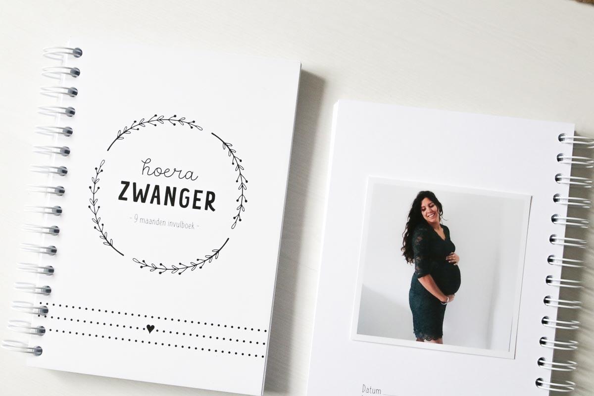 zwangerschapsboek invulboek FSHappiness buikfoto inplakken